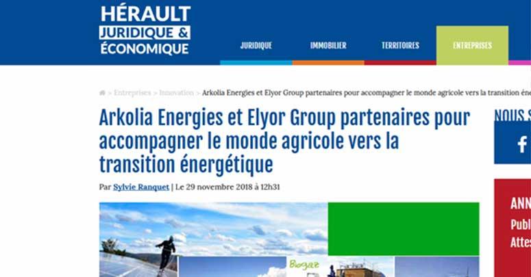 Accord Arkolia ELYOR GROUP