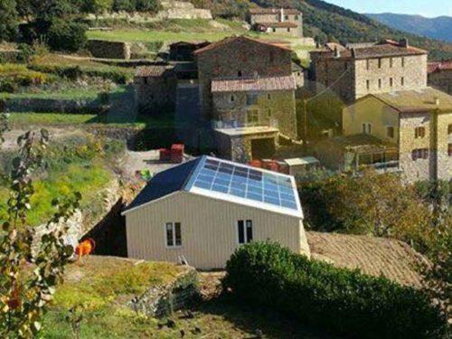 Batiment solaire Gard Elyor group