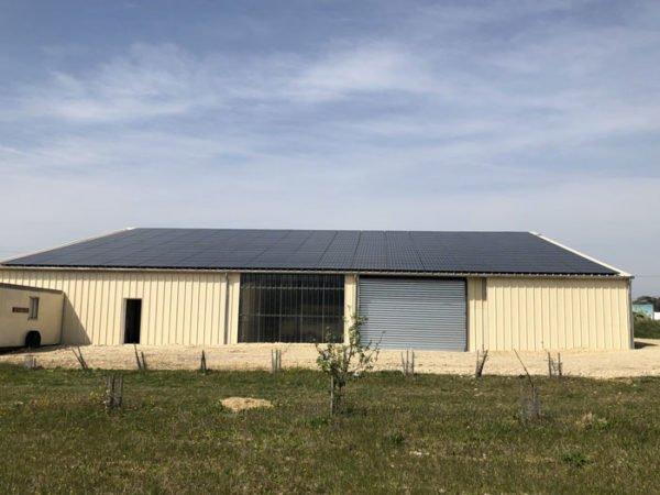 Hangar-solaire-720m2-100kWc-Drome-Elyor