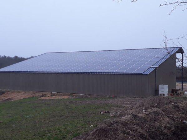 Hangar-solaire-720m2-100kWc-NOUVELLE-AQUITAINE-Elyor