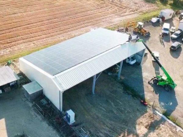 Hangar solaire Haute Garonne Elyor Group